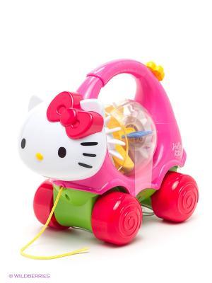 Каталка HELLO KITTY. Цвет: розовый, белый