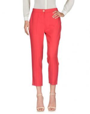 Повседневные брюки KARTIKA. Цвет: красный