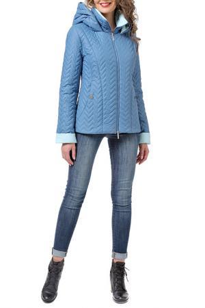 Куртка DizzyWay. Цвет: синий, голубой