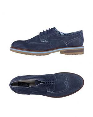 Обувь на шнурках LE CROWN. Цвет: грифельно-синий