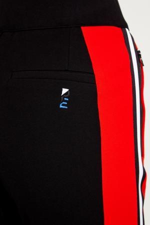 Хлопковые брюки с лампасами P.E Nation. Цвет: multicolor