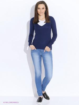 Пуловер Alcott. Цвет: темно-синий