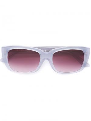 Солнцезащитные очки Lira Amarena Retrosuperfuture. Цвет: серый