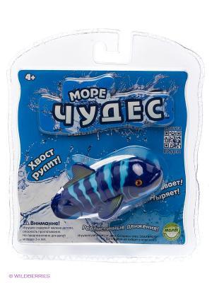 Робо-рыбка акробат Санни Море Чудес. Цвет: синий