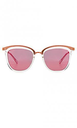 Солнцезащитные очки caliente Le Specs. Цвет: металлический медный