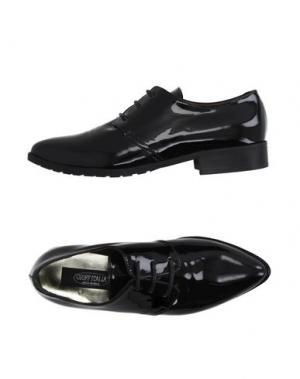 Обувь на шнурках GRIFF ITALIA. Цвет: черный
