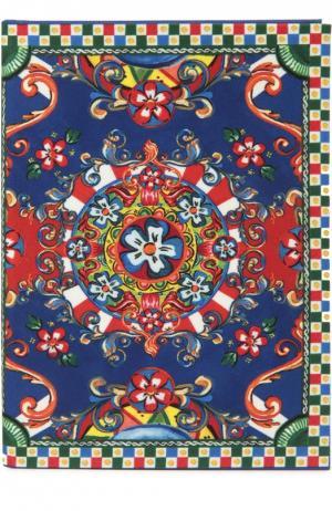 Записная книжка Dolce & Gabbana. Цвет: синий