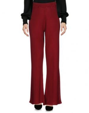 Повседневные брюки RODEBJER. Цвет: красно-коричневый