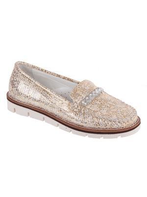 Обувь TIFLANI. Цвет: золотистый