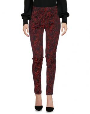 Повседневные брюки VIOLET ATOS LOMBARDINI. Цвет: красный