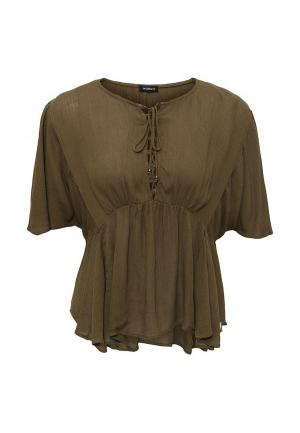 Блуза Motivi. Цвет: хаки