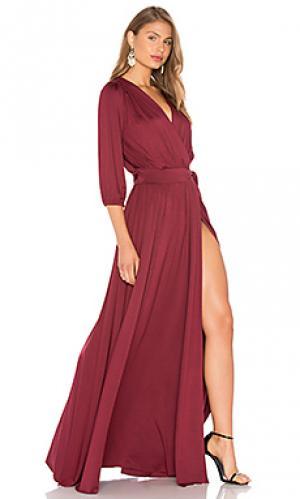 Платье ingrid Rachel Pally. Цвет: вишня