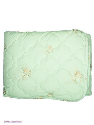 Одеяло Dream time. Цвет: светло-зеленый
