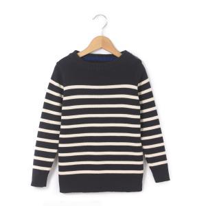 Пуловер в полоску,  3-12 лет La Redoute Collections. Цвет: в полоску серый меланж/ белый,в полоску темно-синий/экрю