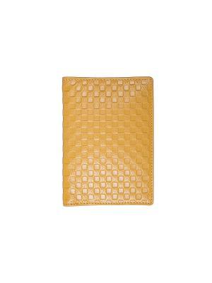 Обложка для паспорта Jane's Story. Цвет: желтый
