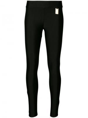 Эластичные брюки Ash Thomas Wylde. Цвет: чёрный