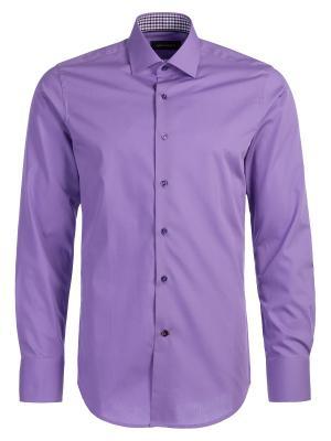 Рубашка Angelo Bonetti. Цвет: сиреневый
