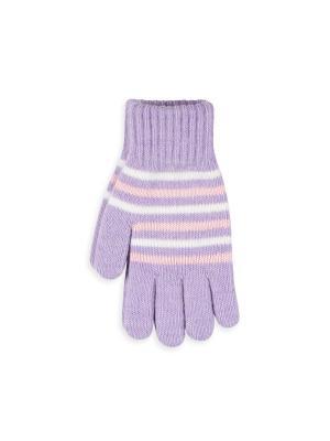 Перчатки Веселый ветер. Цвет: сиреневый