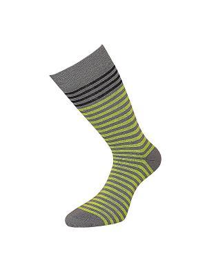 Носки ГРАНД. Цвет: желтый, серый