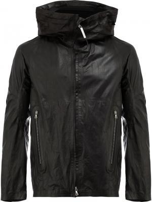 Куртка с воротником-воронкой Isaac Sellam Experience. Цвет: чёрный
