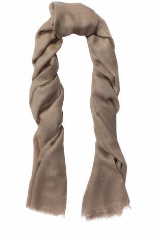 Кашемировый шарф Piacenza Cashmere 1733. Цвет: бежевый