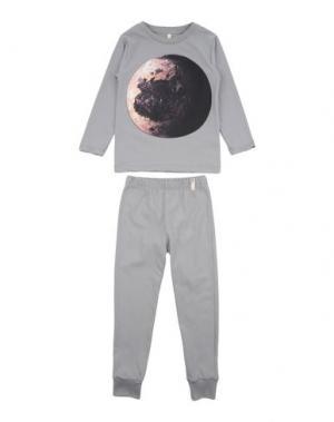 Пижама POPUPSHOP. Цвет: серый