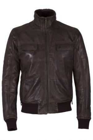 Куртка SUMMIT. Цвет: коричневый