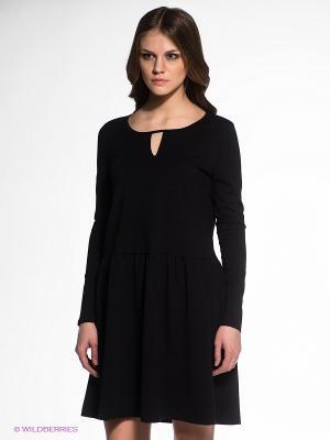 Платье SELECTED. Цвет: черный