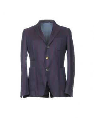 Пиджак JOHN SHEEP. Цвет: темно-фиолетовый
