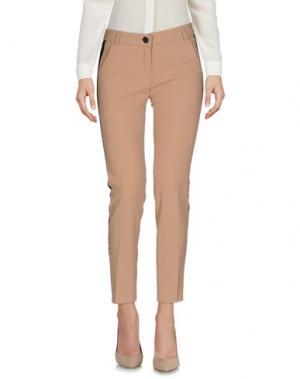Повседневные брюки BOUTIQUE de la FEMME. Цвет: коричневый