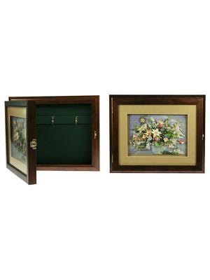 Коллаж-ключница 3D Весенний букет Русские подарки. Цвет: коричневый