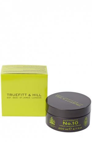 Люкс-крем для бритья Authentic No. 10 Truefitt&Hill. Цвет: бесцветный