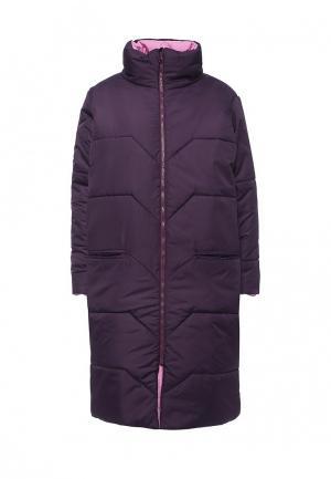 Куртка утепленная Chic. Цвет: фиолетовый