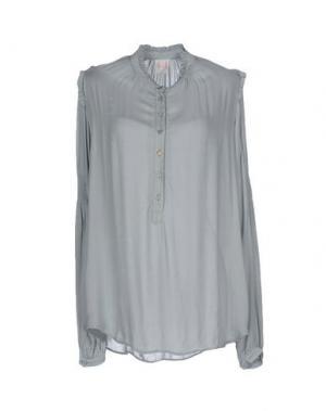 Pубашка NOLITA. Цвет: серый