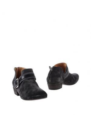 Ботинки GAIA D'ESTE. Цвет: стальной серый