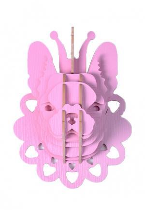 Декор настенный Homsu. Цвет: розовый
