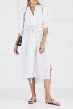 Льняное платье Summer Garden Vita Kin. Цвет: белый