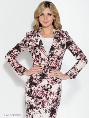 Пиджак Pompa. Цвет: розовый, черный