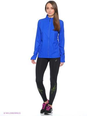 Куртка LITESHOW JACKET ASICS. Цвет: синий, фиолетовый