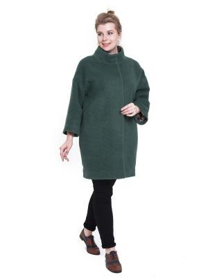 Пальто SUCCESS. Цвет: зеленый