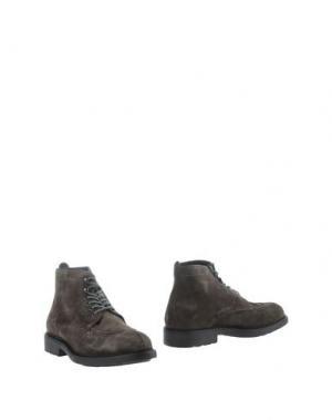 Полусапоги и высокие ботинки ZERO_571. Цвет: свинцово-серый