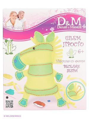 Набор шьем игрушку ЛОШАДКА Делай с мамой. Цвет: желтый