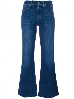 Расклешенные джинсы Lou Mersey Mih Jeans. Цвет: синий