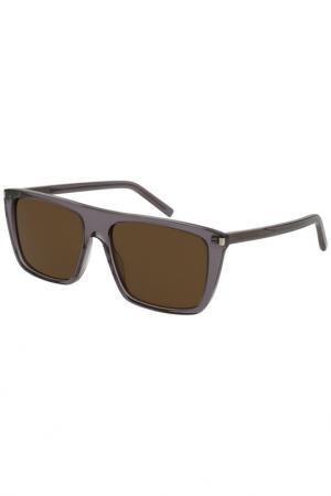 Солнцезащитные очки Saint Laurent Paris. Цвет: 005