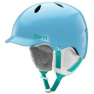 Шлем для сноуборда детский  EPS Bandita Satin Light Blue/White Liner Bern. Цвет: голубой