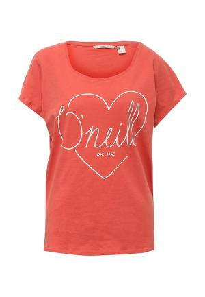 Футболка O`Neill. Цвет: оранжевый