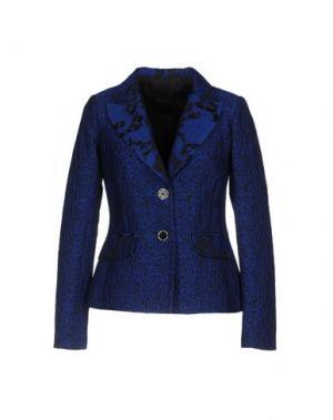 Пиджак DIDIER PARAKIAN. Цвет: синий