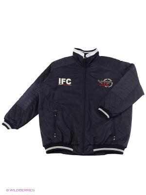 Куртка IFC. Цвет: темно-синий