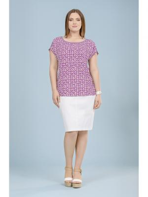 Блузка LALIS. Цвет: фиолетовый