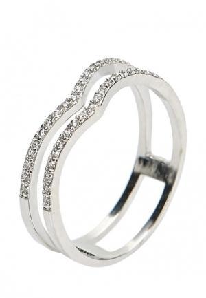 Кольцо Modis. Цвет: серебряный